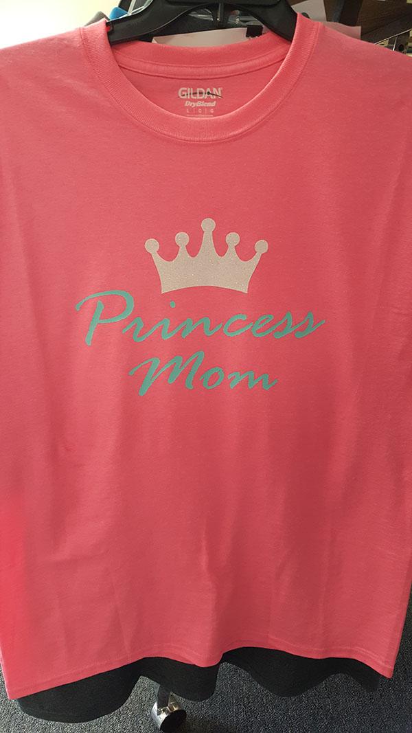 Princess Mom Heat Press