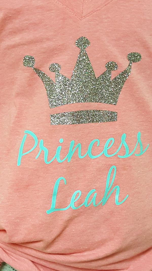 Princess Leah Heat Press