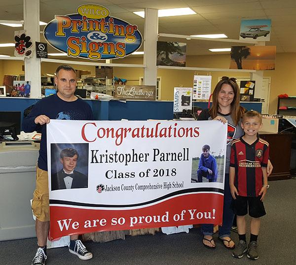 Congrats Kris Parnell