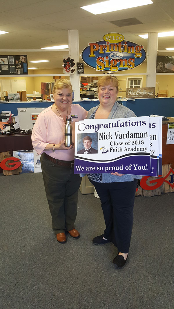 Congratulations Nick Vardaman