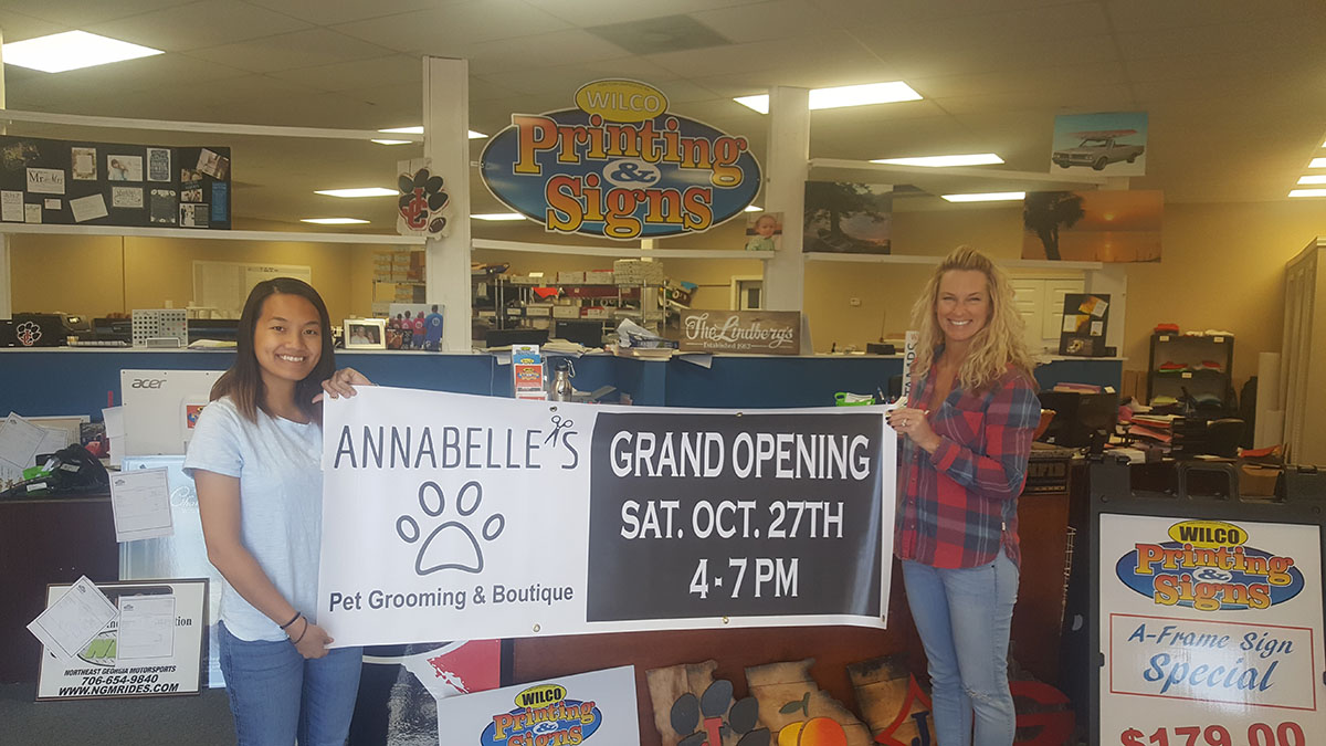 Banner for Annabelles