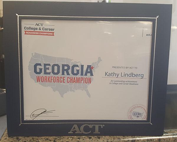 Georgia Work Force Champion
