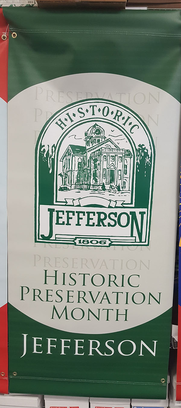 Historic Preservation Month for the City of Jefferson, GA