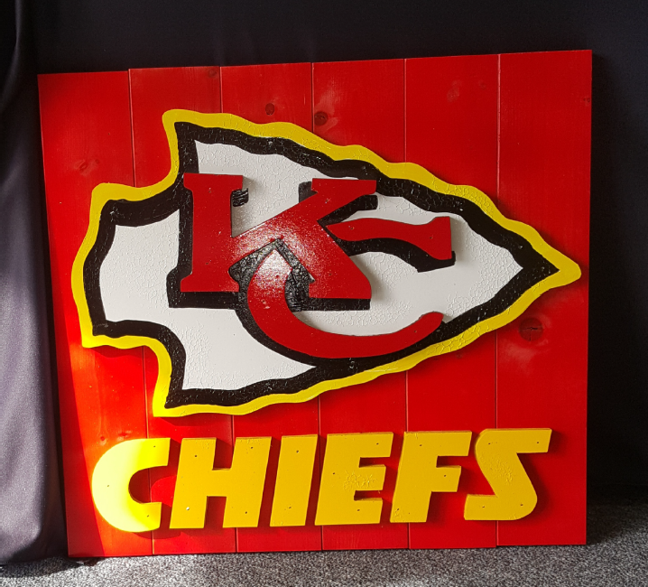 Chiefs Pallet Signs