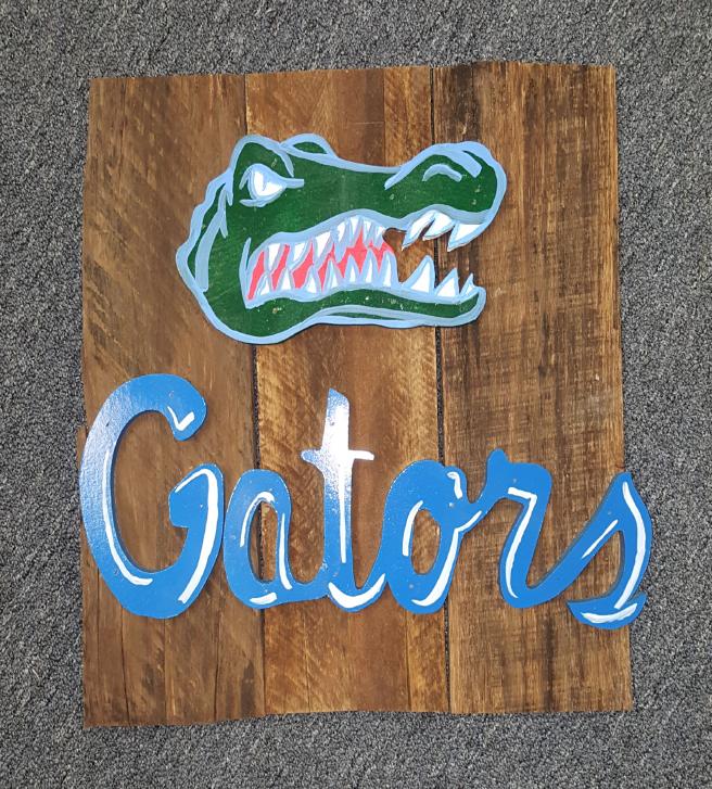 Gators Pallet Signs