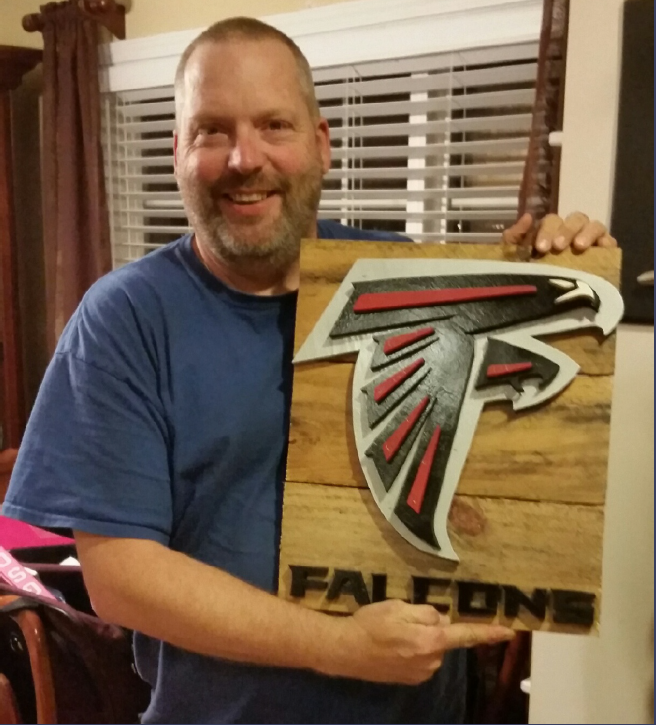 Falcons Pallet Signs
