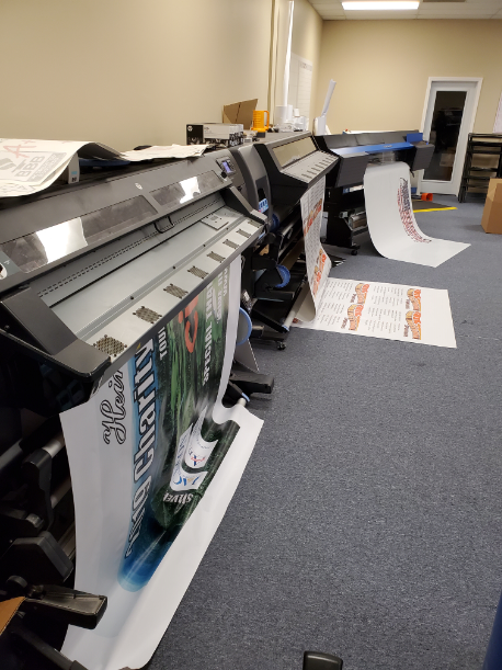 Our Printers at Work