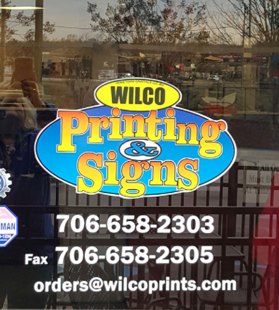 Wilco Printing Signs